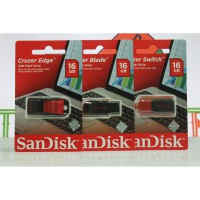 Flasdisk Sandisk Cruzer Edge 16gb