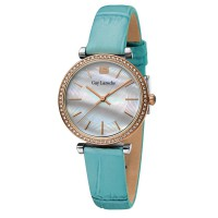 Guy laroche L2014-03 - jam tangan wanita - leather strap - biru