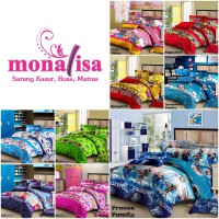 Monalisa Bed Cover Set + Sprei Single Uk. 120