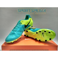 Sepatu Football Sepakbola Soccer Shoes NIKE TIEMPO GENIO II LEATHER FG Ori Art#819213307