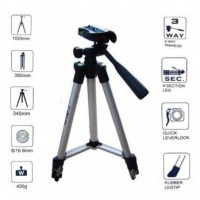 Weifeng Portable Tripod Stand 4-Section Aluminum Legs with Brace -