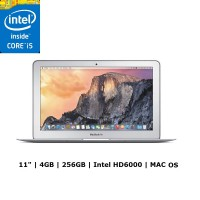 Apple MacBook Air MJVP2 Silver Notebook [11.6 Inch/Intel Core i5/RAM 4 GB]