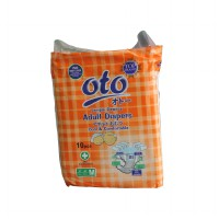 Diapers / Popok Dewasa OTO Uk: M, Isi: 10 Pcs / OT-10M