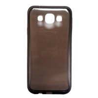 Ultrathin Softcase Alcatel Flash 2 Transparant - Hitam