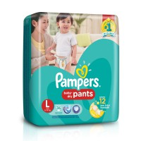 Pampers Active baby dry pants L26 (Paket isi 2)