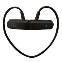 Bluetooth Stereo Headset with Built-in Microphone - BT-252 - Black