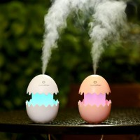 Cracked Egg Air Humidifier Portable USB Purifier with LED Lights