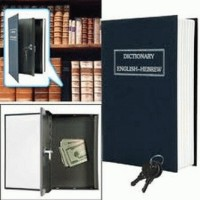 BookSafe Medium 180 x 155 x 55 mm ( Buku Brankas )