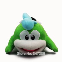[globalbuy] Free Shipping High Quality Super Mario Bros 8 20cm Spike Plush Doll Stuffed An/2936835