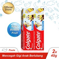Colgate Kids Minions Toothpaste/Pasta Gigi 40gr - Twin Pack
