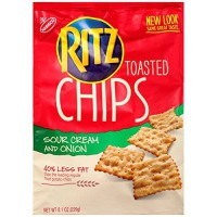 [poledit] Ritz Toasted Chips Sour Cream & Onion 8.1 oz (2 Pack) (T1)/12834691