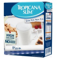 Tropicana Slim Non Fat Skim Milk Plain 1 kg