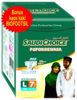 Popok Dewasa Saudi Choice Size L 7 pcs ( Adult Diapers )