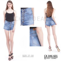Highwaist Mini / Hotpant / Short / Celana Jeans Pendek CK 046 601