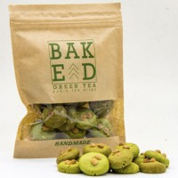 Green tea cookies Baked ID (Isi 4 Pouch)