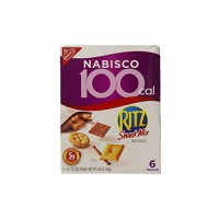 [poledit] Ritz Nabisco 100 Calorie Snack Mix, 4.62 Ounce Box (Pack of 6) (R2)/12945413