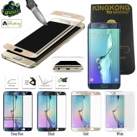 Kingkong Full Curved Glass Samsung Galaxy S6 Edge Plus G928
