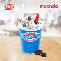 Dairy Queen : Blizzard Oreo Large