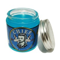Chief Pomade Blue Solid Waterbase 120 gram - Free Sticker & Sisir