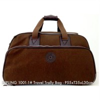 Tas Travel Trolly Fashion Travel Bag Traveling 1001-1 - 9