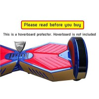 [poledit] IPG Gold Brushed Carbon 8` Smart Balancing Electric Scooter BODY PROTECTOR Decor/13035791