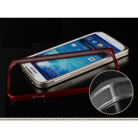 [Buy 1 Get 1 Hardcase]Samsung Galaxy S4 Case Ultra Slim Aluminum Metal Bumper Case