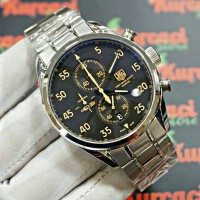 Tag Heuer In Space SS Black Yellow Premium