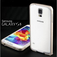 [Buy 1 Get 1 Hardcase]Samsung Galaxy S5 Case Ultra Slim Aluminum Metal Bumper Case
