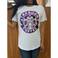 Kaos Starbucks - White