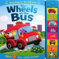 [HelloPandaBooks] The Wheels on the Bus Super Sound Book with 8 fun, noisy sounds