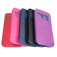 Mercury Goospery Samsung I9500 / S4 Sarung case / Leather Case /Flipshell / Flip Cover View