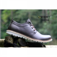SEPATU PRIA ZHOEY INVADER BROWN BOOT SIZE.40-44