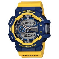 Casio G-Shock GA-400-9BDR Color Combinations Creates Designs Class Magnetic Resistance