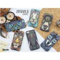 JUNGLE CASE for iPhone & Samsung S4 S5 Grand2 Note3 PRIME / Hardcase full color / Glow in the Dark