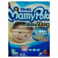Mamypoko Extra Dry Speed Wave Size L-40 Pcs