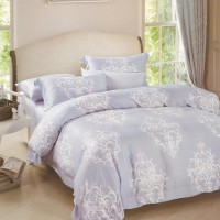Sleep Buddy Sprei dan Bed Cover Damask King Size Sutra Tencel