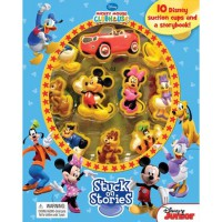 [HelloPandaBooks] Stuck on Stories Disney Mickey Mouse Clubhouse with 10 Disney Suction Cups