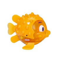 [holiczone] Little Tikes Sparkle Bay Flicker Fish Water Toy - Puffer Fish/1812677