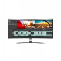 LG 34UC98-W 34-Inch 21:9 Curved UltraWide QHD IPS Monitor with Thunderbolt - White