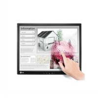 LG LED Monitor 17MB15T Touch Screen - Black