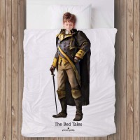 The Bed Tales Bed Cover Prince (200cm x 135cm)