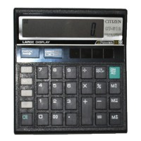 calculator citizen 512 hitam 12 digit