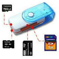 Card Reader All In 1 Usb 4 Slot Putar