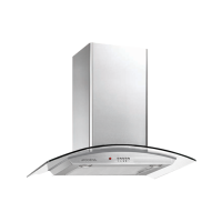 MODENA CX 6300 DIVA - Penghisap asap Chimney Hood Wall Type 60 cm - Stainless Steel