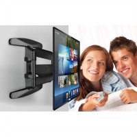 NORTH BAYOU Wall Bracket P6 Full Motion Cantilever Mount for LED, LCD & Plasma TV 40' - 70'