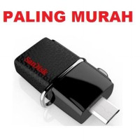 TERMURAH ! FlashDisk Sandisk OTG USB 3.0 / DualDrive 32GB Black Speed 150mb/s