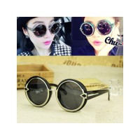 HO2428 - Kacamata Bulat Fashion Arrow ( Hitam ) #C54