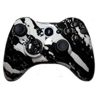 [poledit] Premium Controllerz Xbox 360 White Hydro Dipped / Modded Rapid Fire Controller //12519124
