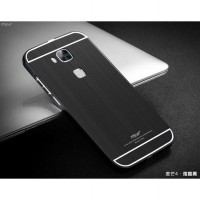 MSVII Luxury Bumper Acrylic Cover Metal Case - Huawei G8
