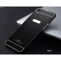[Free TG] MSVII Luxury Bumper Acrylic Cover Metal Case - Oppo F1 Plus